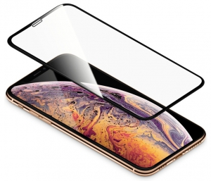 Torrii Bodyglass Full Coverage Curved for iPhone XS- Black