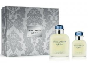Dolce & Gabbana Light Blue Perfume Set for Men - 2pc (EDT 125ml + 40ml)