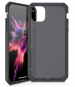 Itskins Supreme Frost Case Anti Shock Up to 3mtr for iPhone 11 Pro (5.8) - Grey & Black