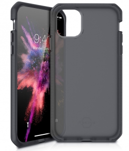 Itskins Supreme Frost Case Anti Shock Up to 3mtr for iPhone 11 Pro Max (6.5) - Grey & Black