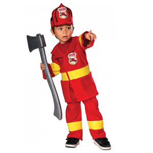 Rubies Jr. Firefighter Costume(Age: 1 -2)
