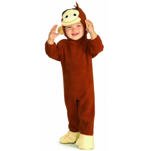Rubies Curious George Ezon Rompr Costume (Age: 0.5-1)