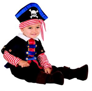 Rubies Pirate Boy Costume (Age: 0-1)