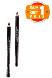 Rimmel London Soft Kohl Kajal Eye Pencil 061 Jet Black (Buy 1 Get 1 Free)