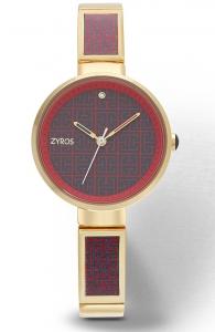 Zyros ZAA007 Women's Analog Watch - Red