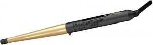 Babyliss Curling Iron Conic Gold 3 Temp LED