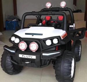 Jeeb Dan 4*4 Remote Control Toy Car - White