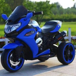 3 Wheels Motorcycle Toy Bike - Blue