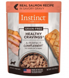 Nature's Variety Healthy Cravings Real Salmon Recipe - Pouche 3oz (Cat)
