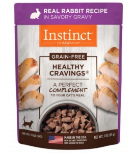 Nature's Variety Healthy Cravings Real Rabbit Recipe - Pouche 3oz (Cat)