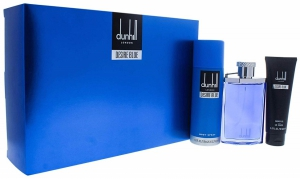 Dunhill Desire Blue For Men 100 ML EDT+ 195 ML Body Spray + 90 ML Shower Gel