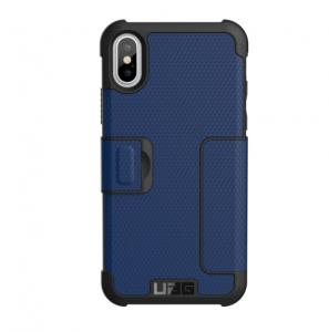 UAG - iPhone XS Metropolis Case - Cobalt/Silver