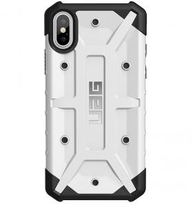 UAG iPhone Xs Pathfinder Case - White/Silver