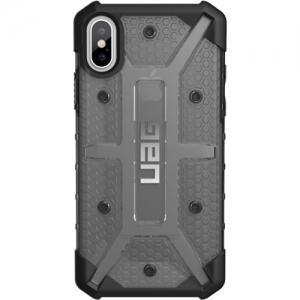 UAG iPhone X Plasma Case - Ash/Black/Silver