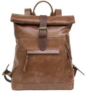 Zunash Samaira Unisex Leather Backpack