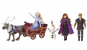 Hasbro Disney Frozen 2 Character Multipack With Sledding Adventures