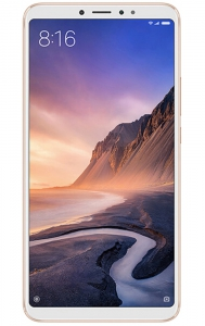 Xiaomi MI MAX3 Smartphone 6+128 GB Storage - Gold