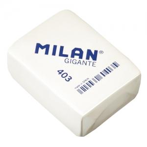 Milan Extra-Large Erasers - 20pcs/PKT