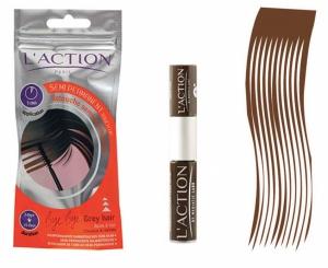 L\'action Paris Semi Permanent - Touch up Hair-D.Brown
