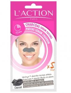 L\'action Paris Charcoal Sebum Srrips - 3g