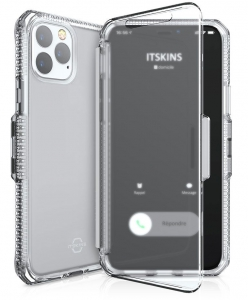 Itskins Spectrum Vision Clear Case Anti Shock Up to 2 Mtr for iPhone 11 Pro Max (6.5) - Transparent