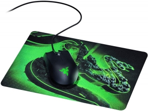 Razer Gaming Mouse with Goliathus Control Fissure Mouse Mat