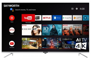 "Skyworth 55"" UHD-4K Smart TV - LED-55Q20"