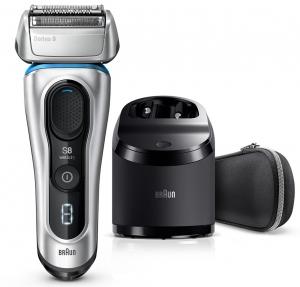 Braun Series 8 8390cc Wet & Dry Shaver - Silver