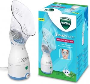Vicks VH200E1 Sinus Steam Inhaler Face Steamer With Soft Face Mask