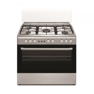 Orca 5 Burner Gas Cooker Stainless Steel - OR-9060FSCFF