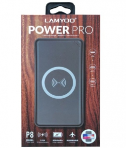 Lamyoo Power Pro 8000mah Wireless Charging P8