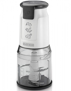 Black & Decker 500W Food Slicer - White - FC300PR-B5