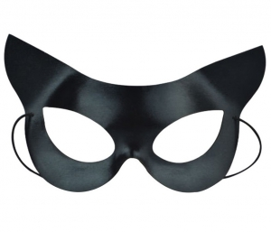 Black Eye Half Face Mask Catwoman Mask