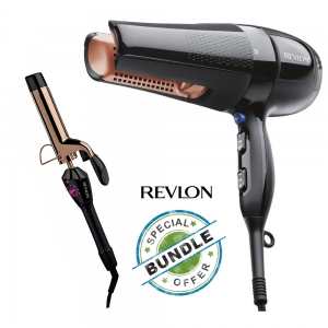 Revlon Salon 360 Surrounded Hair Dryer (Bundle Offer - Revlon Salon Curls & Wave)