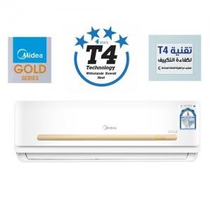 Midea Gold 1.5 Ton 18,000BTU, 4 Star T4 Technology Indoor Split Air Conditioner
