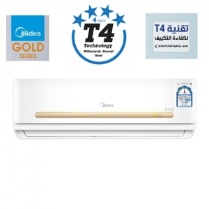 Midea Gold 2 Ton 24,000BTU, 4 Star T4 Technology Indoor Split Air Conditioner