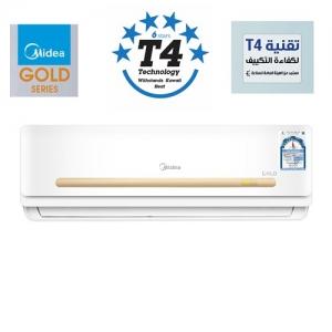 Midea Gold 2.5 Ton 30,000BTU, 6 Star T4 Technology Indoor Split Air Conditioner