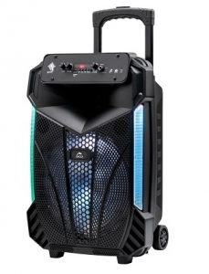 Orca Portable Rechargeable Bluetooth Trolley Speaker 15W(RMS)
