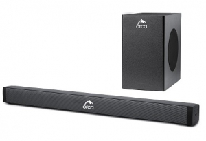 Orca Bluetooth Sound Bluetooth Bar Soundbar System, 40W (RMS)