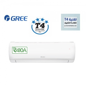 Gree 1 Ton, 11600BTU 4 Star T4 Technology Split Air Conditioner