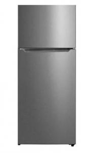 Midea 554 Liters Top Mount Double Door Refrigerator, Silver