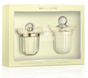 Women'Secret Eau My Delice Gift Set EDT 100ml + Body Lotion 200ml