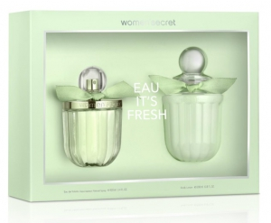 Women'Secret Eau It's Fresh Gift Set EDT 100ml + Body Lotion 200ml