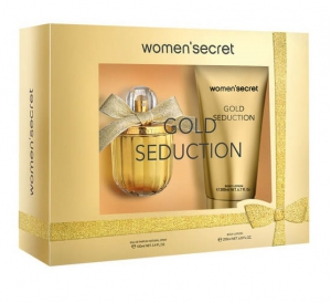 Women'Secret Gold Seduction Set EDP 100ml+ Body Lotion 200ml