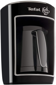 Tefal Turkish Coffee Maker Intelligent System 4 Cups Capacity - Black