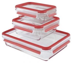 Tefal Masterseal Fresh Food Storage Box, 3pcs Set