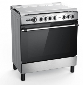 Midea Gas Cooker With Gas Oven & Grill (90cm x 60cm)