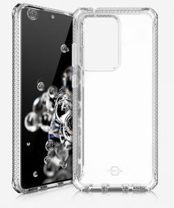 Itskins Spectrum Clear 2m Anti Shock Protection Cover for Samsung Galaxy S20 Ultra - Clear