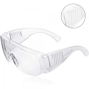 Safety Glasses Clear Anti-Fog and Scratch Reduction Goggle for Work and Sport, Men,Women (1 Pack)