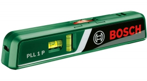 Bosch PLL 1 P Laser Spirit Level Wall Mount